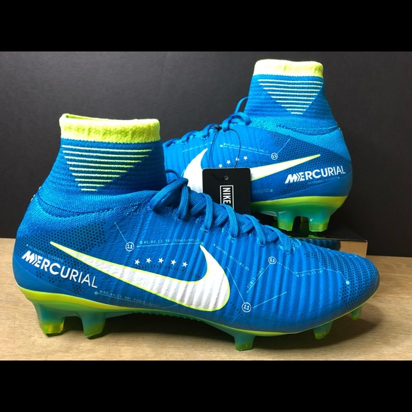 low cost 72f56 4bfa9 Nike Mercurial Superfly V NJR FG Neymar Soccer NWT